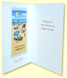 Christmas Greeting Card - inside
