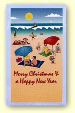 Christmas Greeting Card sachet