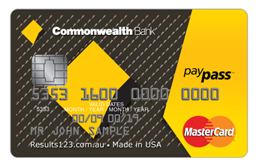 Commonwealth Bank card